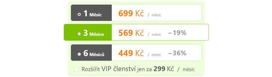Seznamka NudistFlirt VIP ceník
